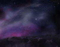 '2D Space Landscape