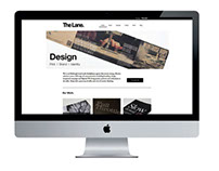 The Lane - Brand Identity and Website Design
