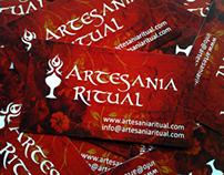 Tarjetas de visita Artesania Ritual