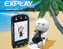"Advertising for ""Explay"""