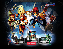 Thundercats Game DS SITE / Namco