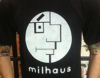 Milhaus, a Mashup of Milhouse and Bauhaus