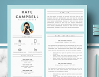Professional resume for Ms Word & Mac Pages