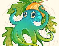 Acorn+Octopus