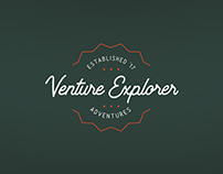 Venture Explorer - brand id, stationary, website, print