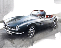 Making of BMW 507