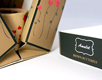Amulet Brown Butterfly Packaging