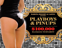 Playboys & Pinups Intro Animation & Micro-Site