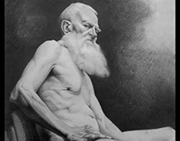 paintings cloning in pencil