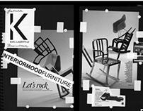 Karl Lagerfeld Visual Merchandise showroom brainstorm