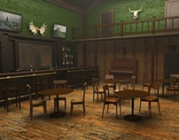 3D scenes for video game