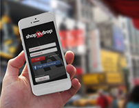 ShopNDrop App Design