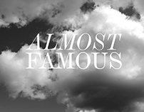 Graphic Campaign @Nelly.com #Almost Famous