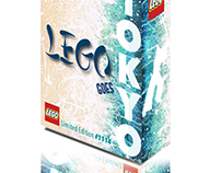 Lego Goes Tokyo Special Edition Packaging Design