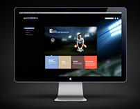 design du site SPORTLEMON