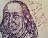 Benjamin Franklin by pallominy D29 C2 feb 26 2013