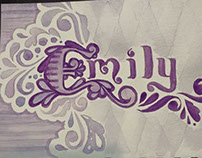 Emily - design & watercolor