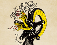 GT Bikes Tattoo Design