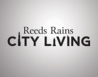 Reeds Rains City Living branding