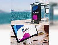 Logo design efino / finto