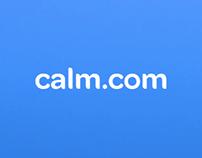 Calm.com - scripwriting & copy for iPhone app