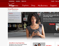 Verizon Wireless Small Business Website