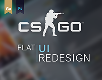 CS:GO - Flat UI Redesign