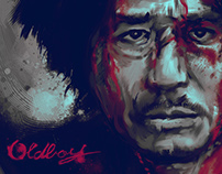 Oldboy   /fan made movie poster/