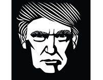 Donald Trump vector art