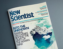 New Scientist magazine cover design (Issue 3036)