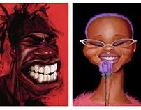 ILLUSTRATION: Hip Hop Portraits