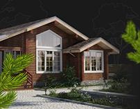 Robrus Строительство загородных домов из бруса. Landing