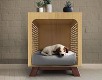 Gala Dog House + End Table