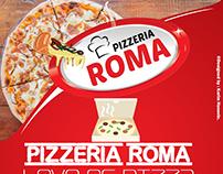 Pizzeria Roma ( Pizza flyer Design )