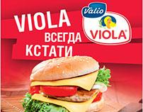 Viola. Advertising concept