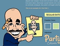 Caricaturist - Website and Brochure
