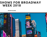 Kevin McCord on Must See Broadway Shows