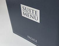 Palace Suite Menu