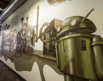 Google Android Mural