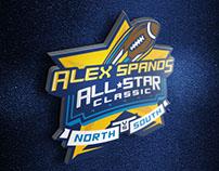 Alex Spanos All-Star Classic logo design