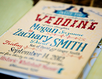 Zach & Meg: Wedding Stationary and Products