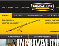 Convey-All USA Website Design