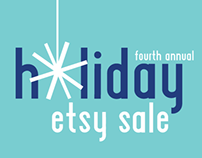 Holiday Etsy Sale | CAM Event Posters