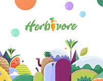 Herbivore  -vegetarian fast food -
