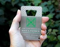 Metal Bottle Opener Business Cards For Lawyers