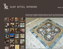 Klint Kettell Interiors | Web Design
