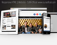 Responsive HTML 5 SURÁ (Music Band) Official Website