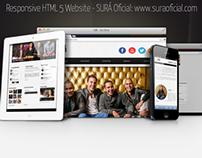 Responsive HTML 5 SURÁ (Music Band) Official Website