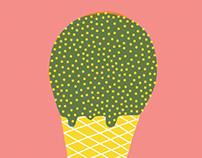 Gelato del cactus