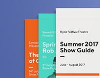Hyde Festival Theatre Brand Identity